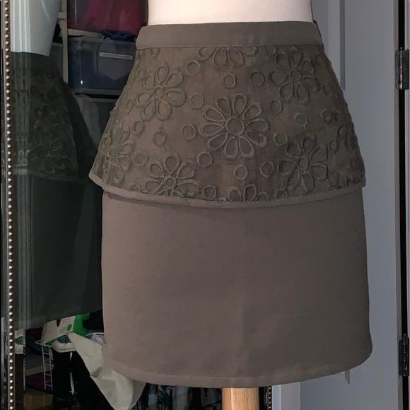 Sugarlips Dresses & Skirts - PEPLUM MINI SKIRT